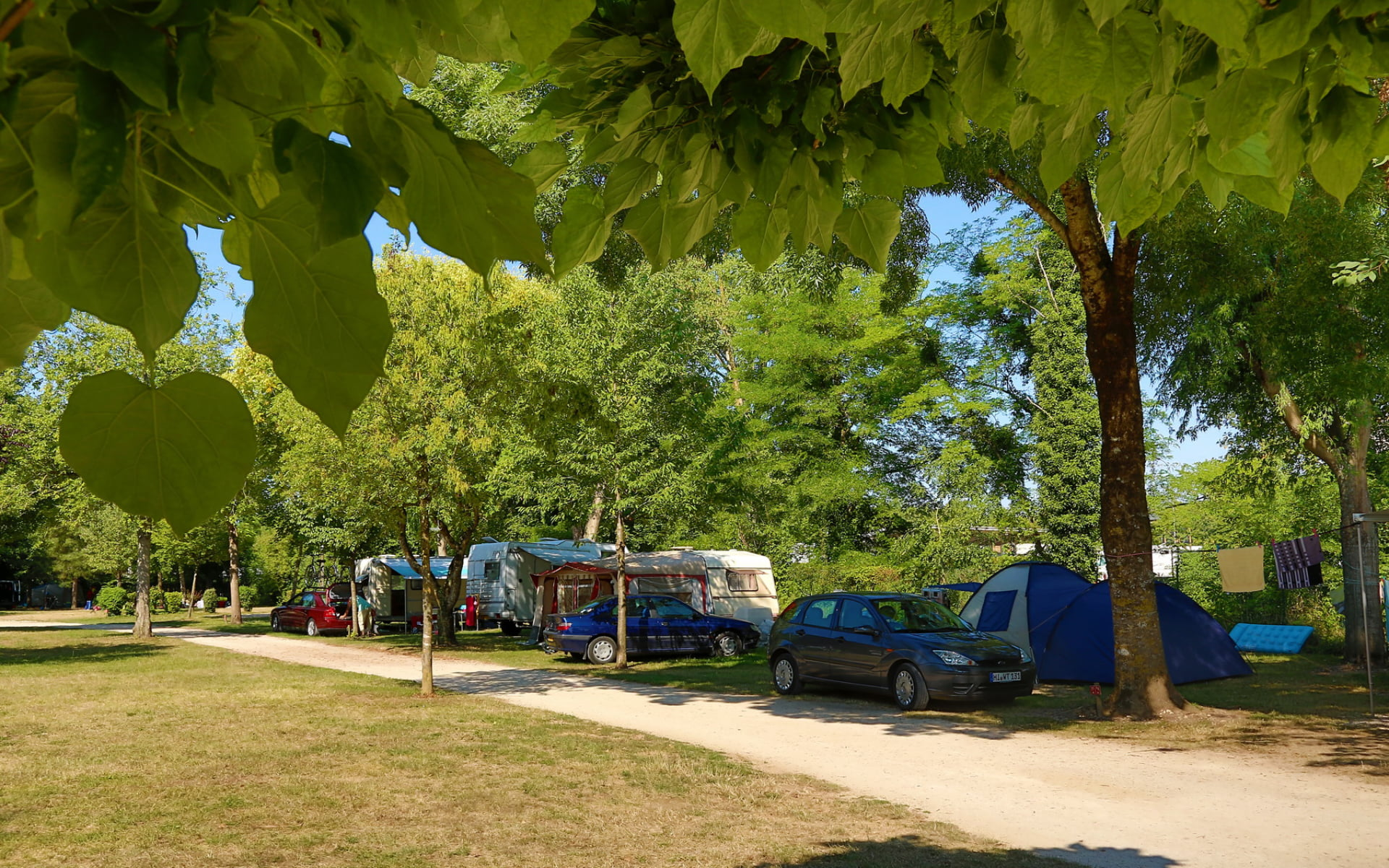 Emplacements Camping du Pasquier