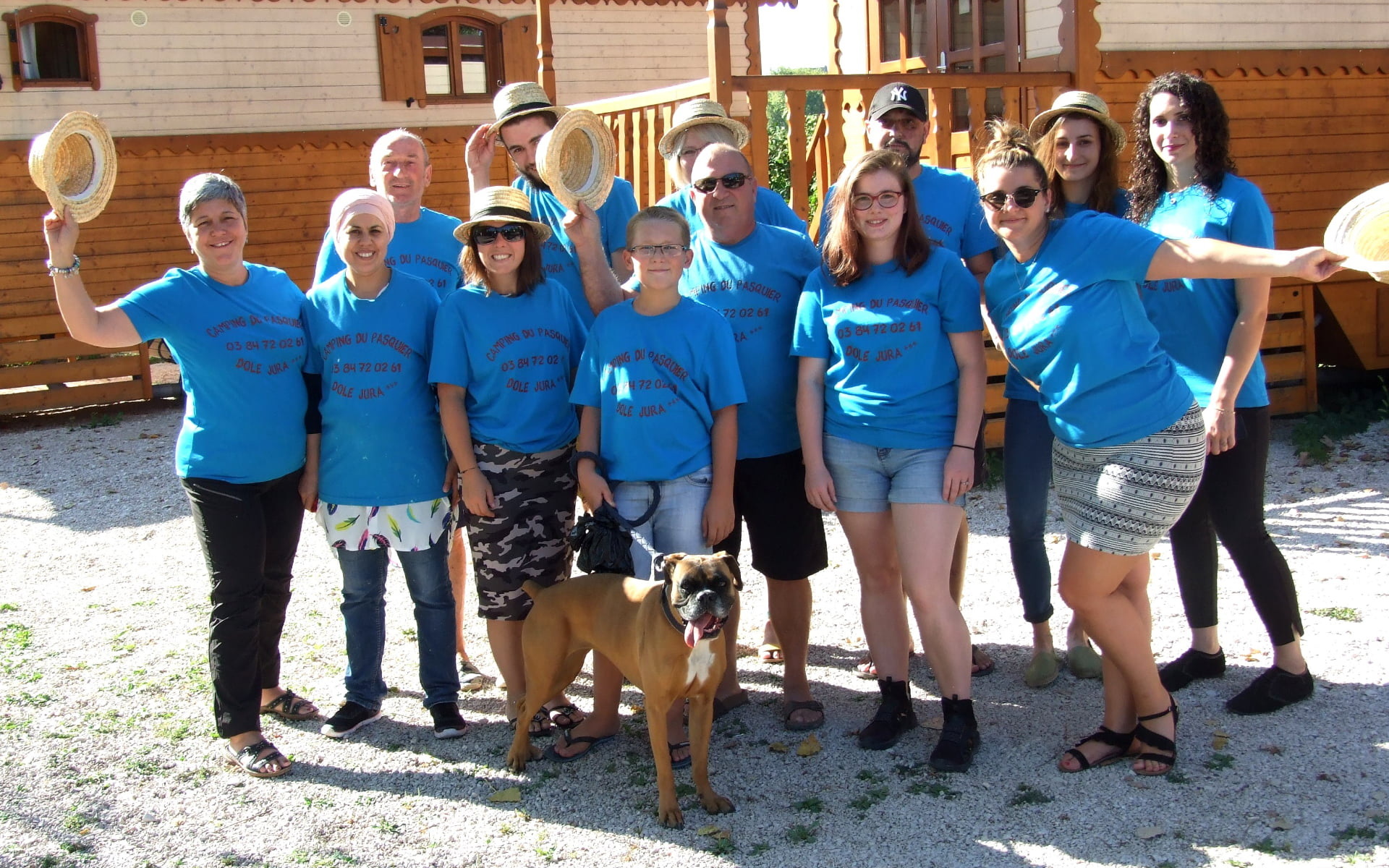 Equipe Camping du Pasquier