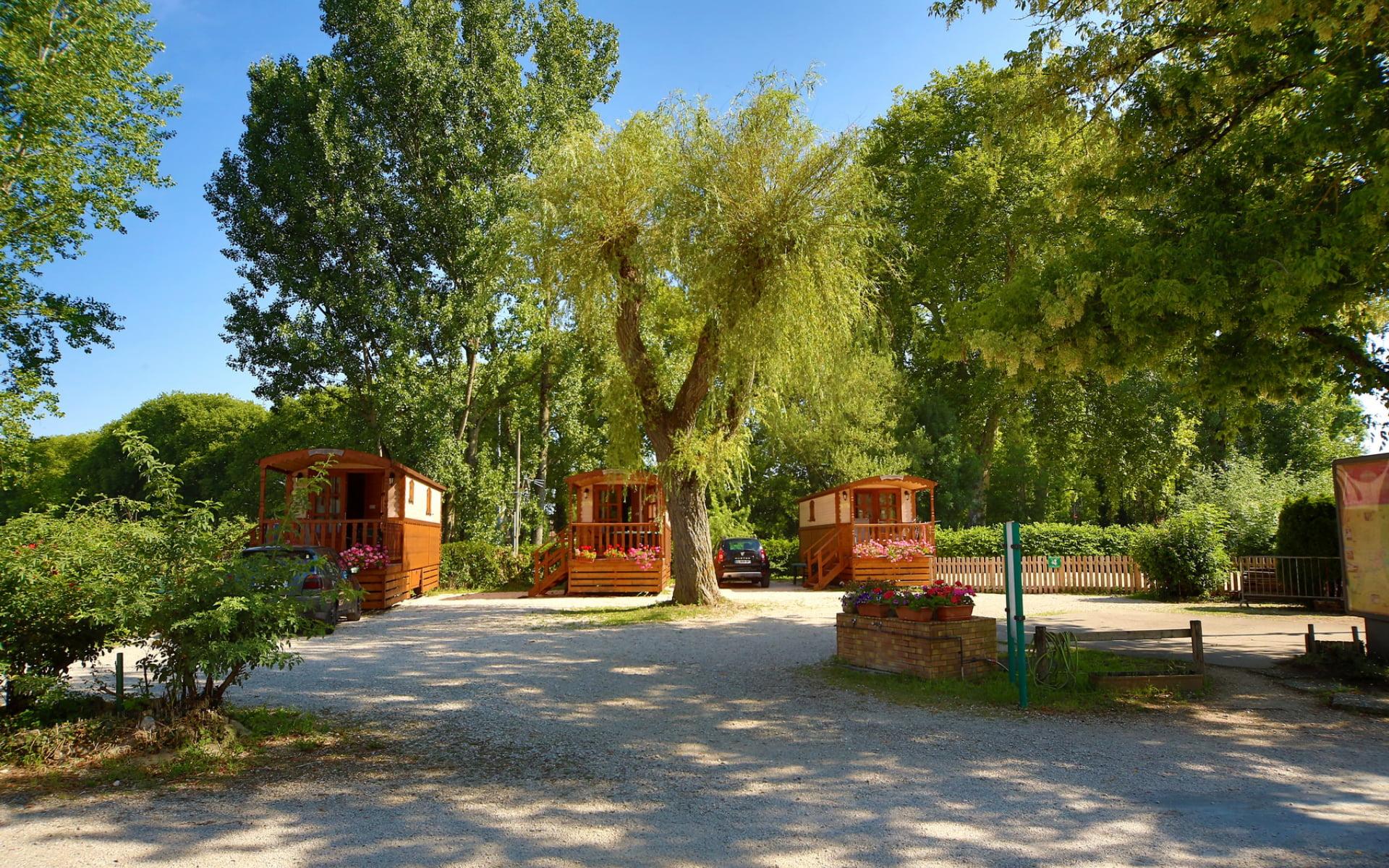 Roulotte Camping du Pasquier